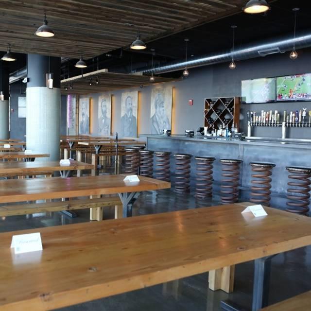 Taphaus Tables & Bar - Taphaus, Jersey City, NJ