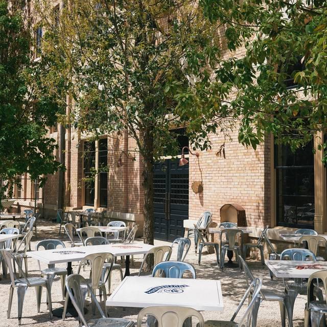 Beer Garden - Southerleigh Fine Food & Brewery, San Antonio, TX