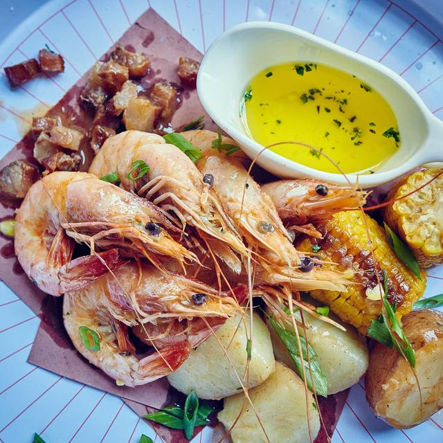 Shrimp - Southerleigh Fine Food & Brewery, San Antonio, TX