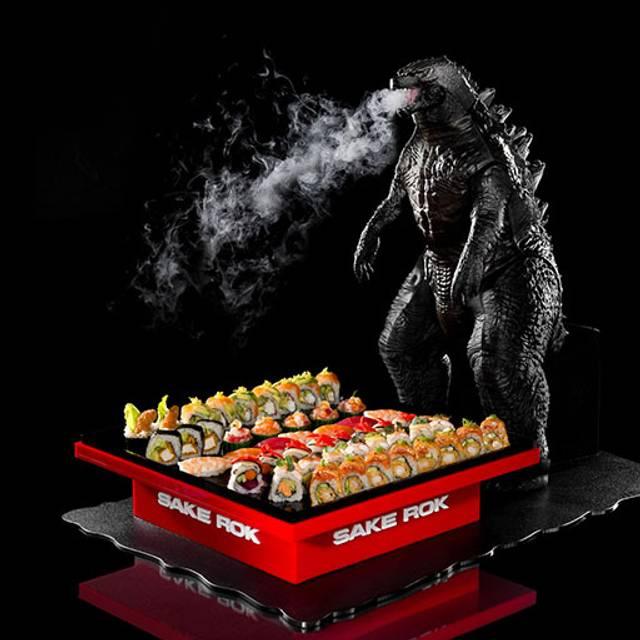 Godzilla Platter - Sake Rok, Las Vegas, NV