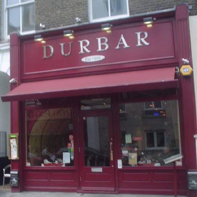 Durbar Indian Restaurant Hereford Road