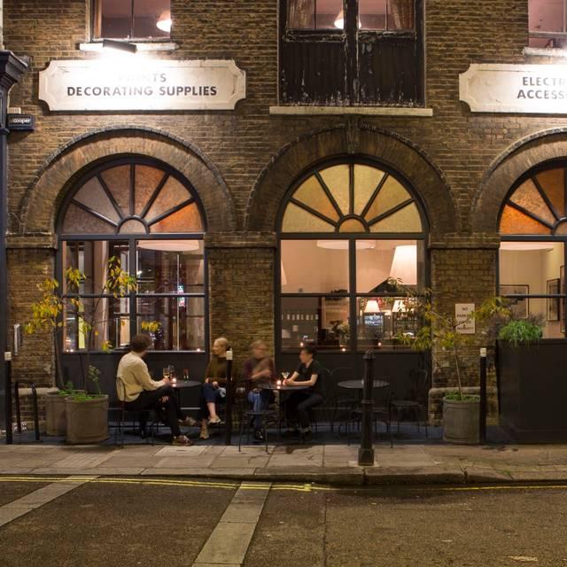 Frontline Restaurant, London