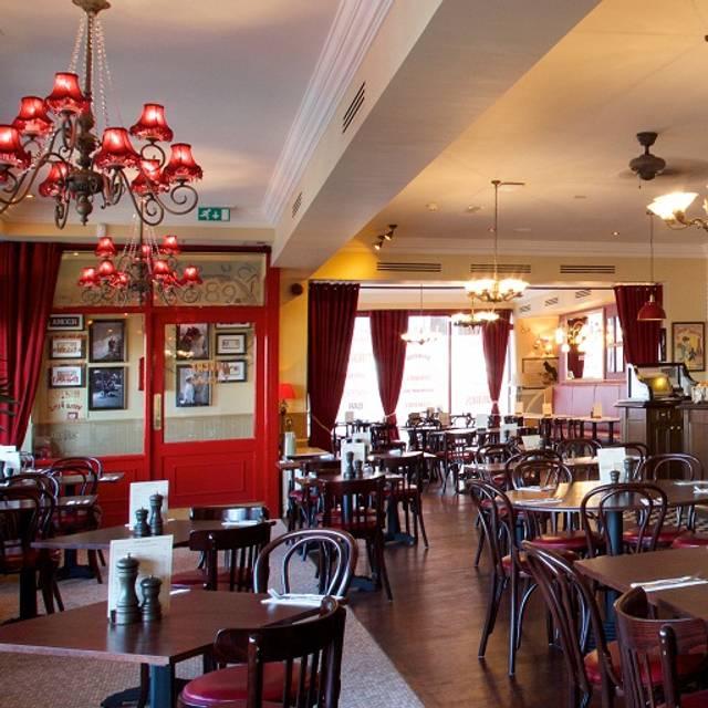 Cafe Rouge Menu Birmingham New Street