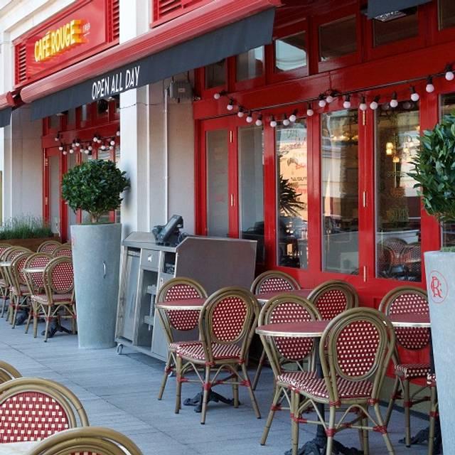 Cafe Rouge Birmingham Breakfast Menu
