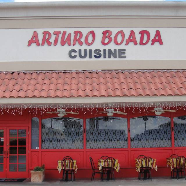 Front Of The Restaurant - Arturo Boada Cuisine, Houston, TX