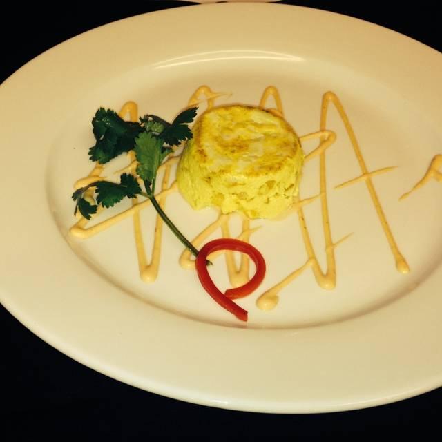 Crab Meat Flan - Arturo Boada Cuisine, Houston, TX