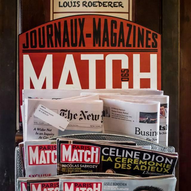 Match Magazines - Match 65 Brasserie (formerly Paris Match), New York, NY