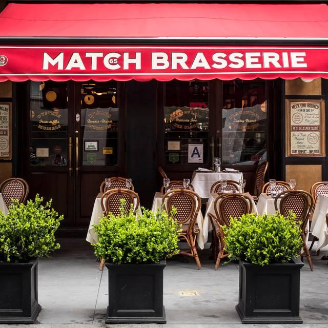Match 65 Brasserie Formerly Paris Match Restaurant New York Ny