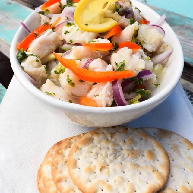 Ceviche - Pelican Nest Seafood Grill, Palm Beach, Aruba