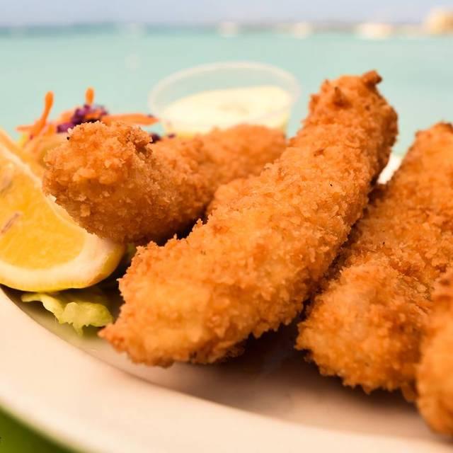 Fish Sticks - Pelican Nest Seafood Grill, Palm Beach, Aruba