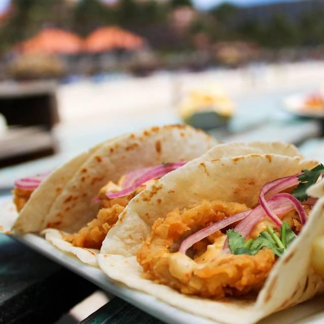 Calamari Tacos - Pelican Nest Seafood Grill, Palm Beach, Aruba