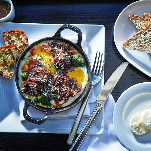 Baked Eggs with Shortrib - Stonegrill @ JW Marriott Desert Ridge Resort & Spa, Phoenix, AZ