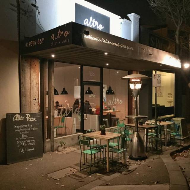 Altro - Altro Pizza + Caffe, Williamstown, AU-VIC