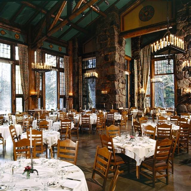 the majestic yosemite hotel restaurant - yosemite village, ca