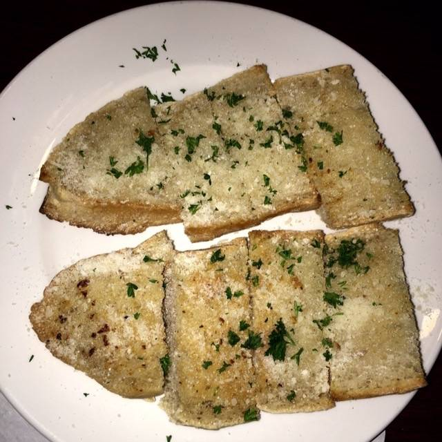 Garlic Bread - Luisa's Pizza & Pasta, San Francisco, CA