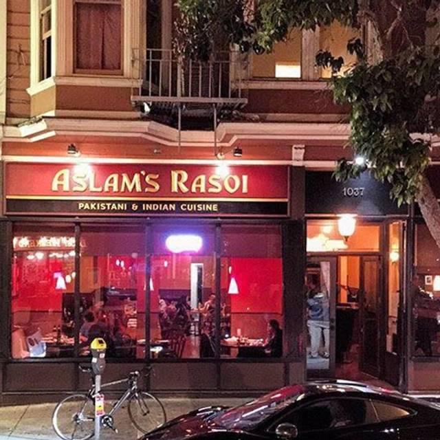 Aslam's Rasoi, San Francisco, CA