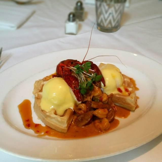 Crawfish And Waffle - Brennan's of Houston, Houston, TX