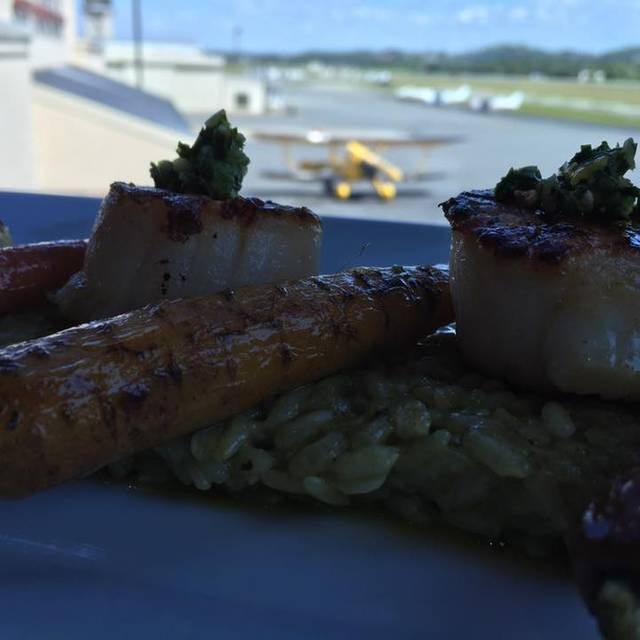 Scallops Casil Risotto - Elevation Chop House and Skybar, Kennesaw, GA