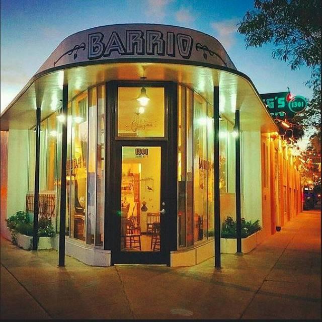 Barrio - Barrio Cafe Gran Reserva, Phoenix, AZ
