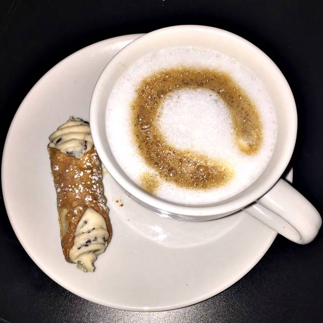 Cannoli And Cappuccino - Wheat + Water Italian Kitchen, Bradenton, FL
