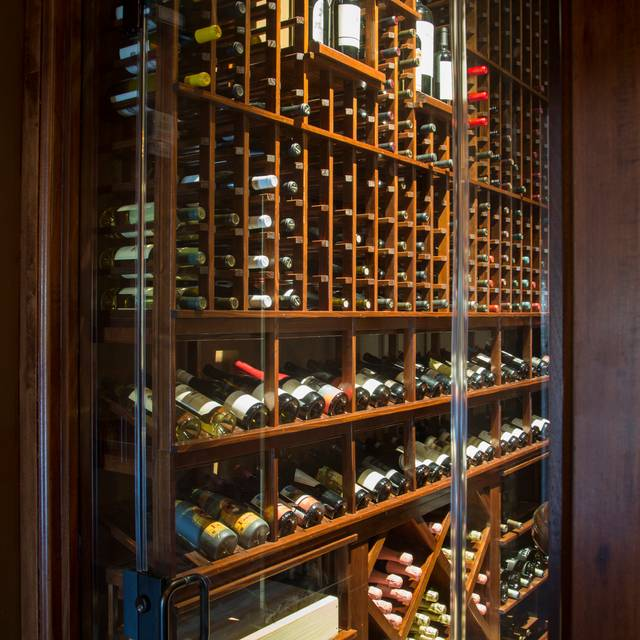Wine Cellar - Michael's On The Alley, Charleston, SC