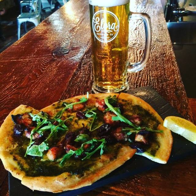 Pizza & Beer - Elora Brewing Company, Elora, ON