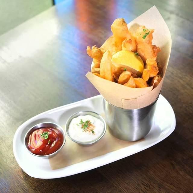 Fish & Chips Cup - fadó Irish Pub & Restaurant - Chicago, Chicago, IL