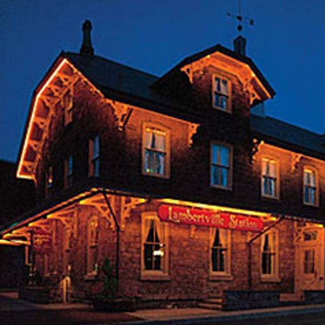 Restaurant Night Shot - Lambertville Station, Lambertville, NJ