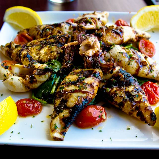 Grilled Calamari - Nonna Silvias Trattoria and Pizzeria, Park Ridge, IL