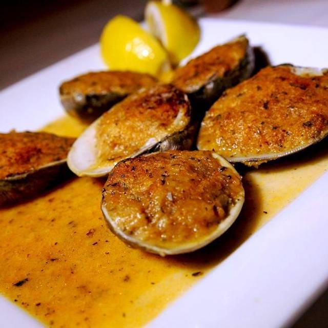 Baked Clams - Nonna Silvias Trattoria and Pizzeria, Park Ridge, IL