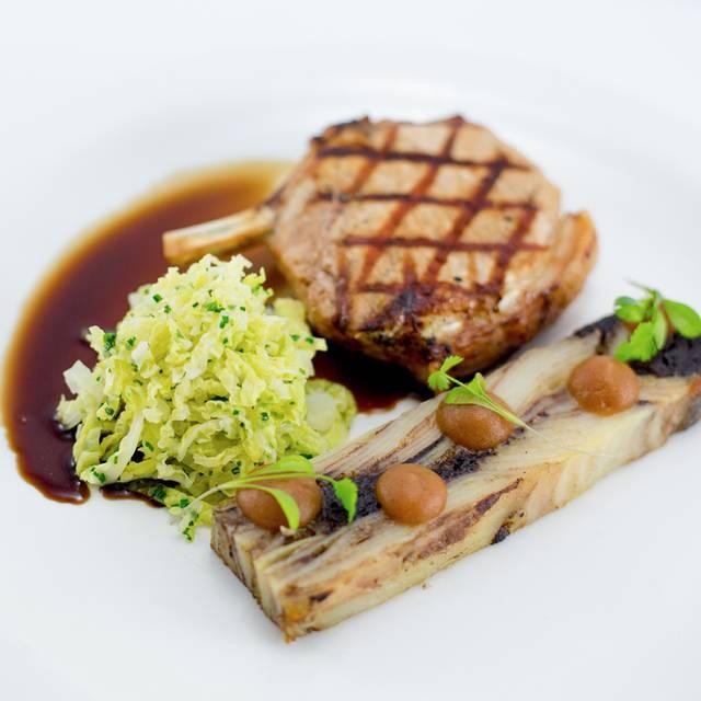 Pork cutlet with pressed potato - Bread Street Brasserie, Edinburgh