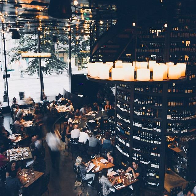 Purple Cafe And Wine Bar Seattle Restaurant Seattle Wa