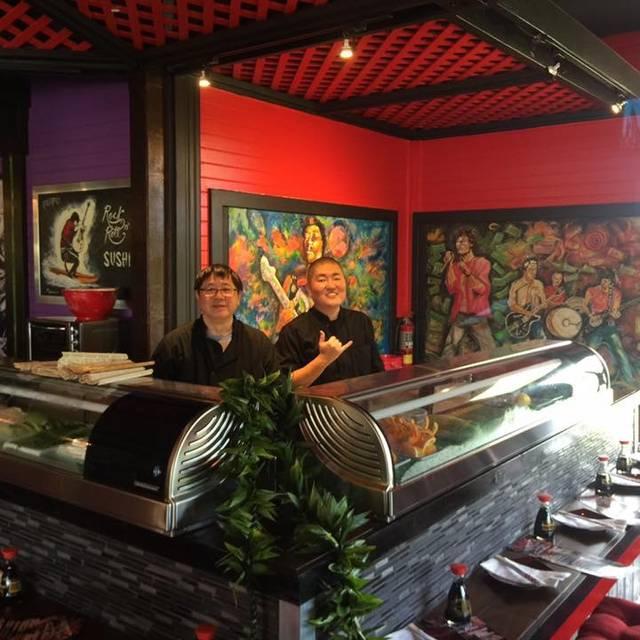 Bangkok Happy Bowl Bistro and Bar + Poipu Rock 'n Roll Sushi, Koloa, HI