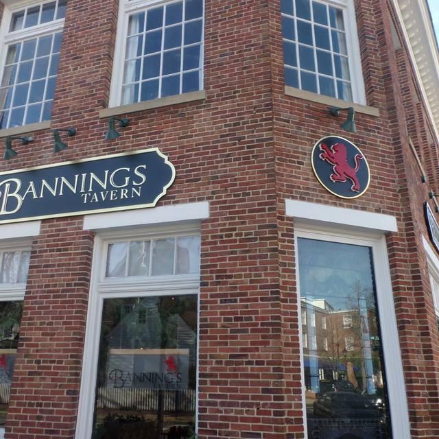 outside - Bannings Tavern, Easton, MD
