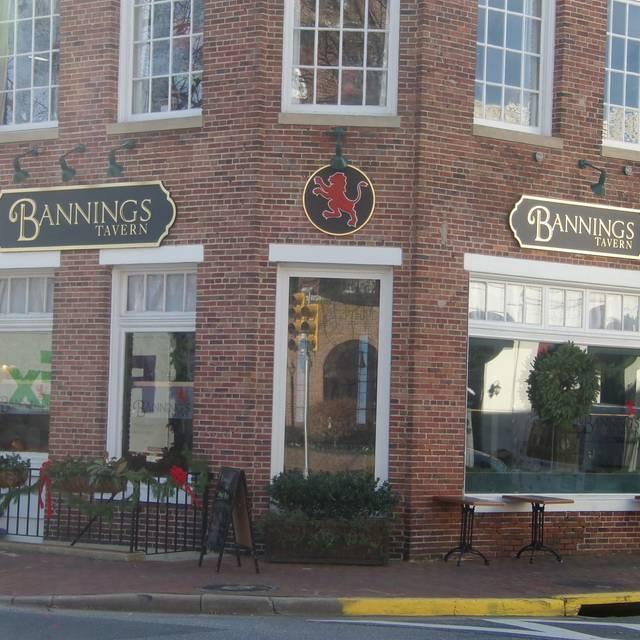Bannings Tavern, Easton, MD