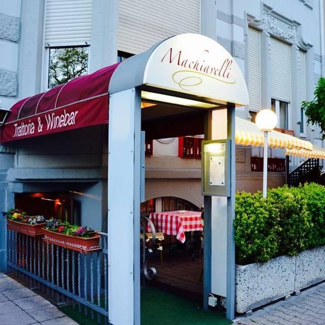 Machiavelli Trattoria & Winebar, Frankfurt am Main, HE