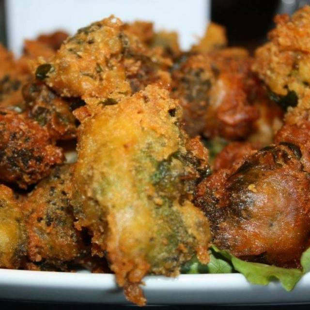 Spinach & Broccoli Fritters - @ Elm St Grill, Greensboro, NC
