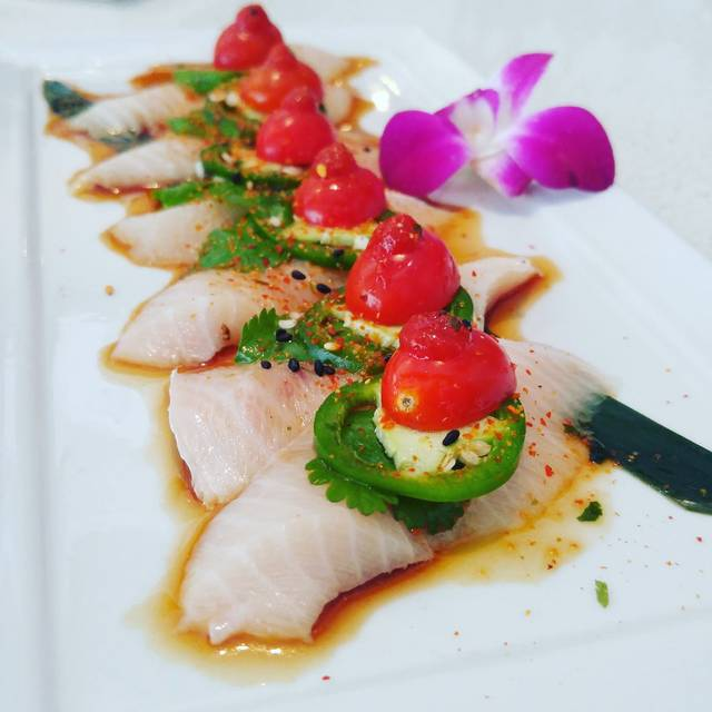 Hamachi Carpaccio - Crave Sushi, Houston, TX