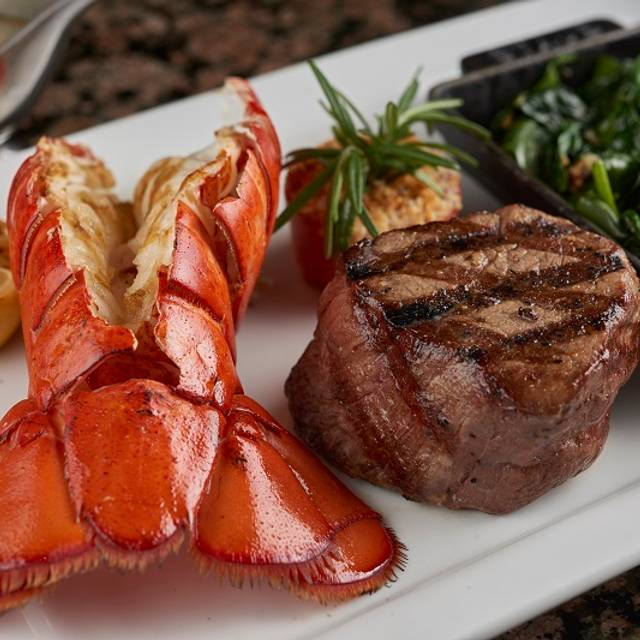 Petite Filet Mignon & Grilled Lobster Tail - Farraddays Steakhouse – Isle Casino Racing Pompano Park, Pompano Beach, FL