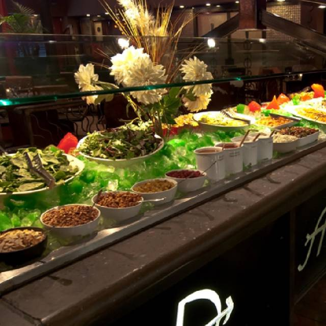 Salad Bar - Brasa Brazilian Steakhouse, Raleigh, NC