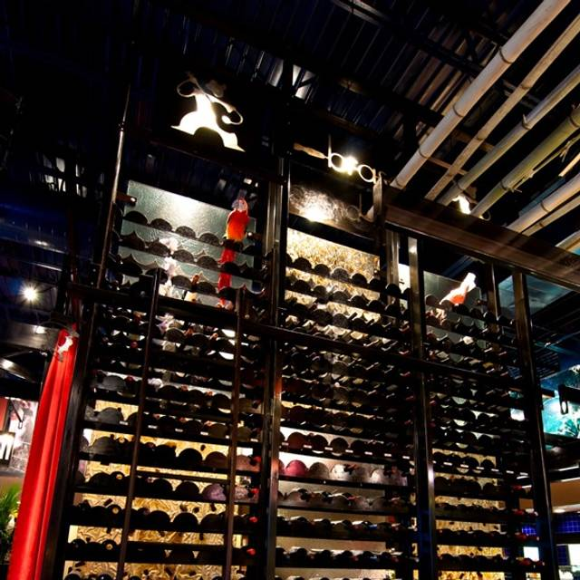 Wine Wall - Brasa Brazilian Steakhouse, Raleigh, NC