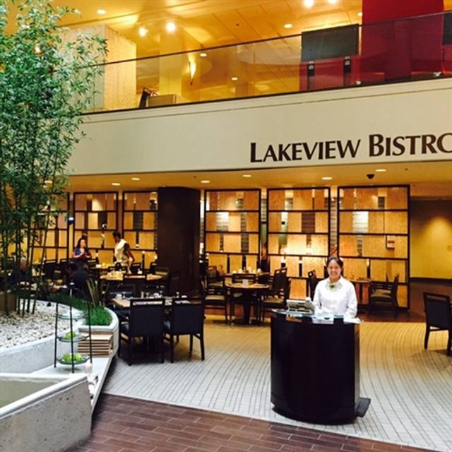 Lakeview Bistro at The Westin Bonaventure Hotel, Los Angeles, CA