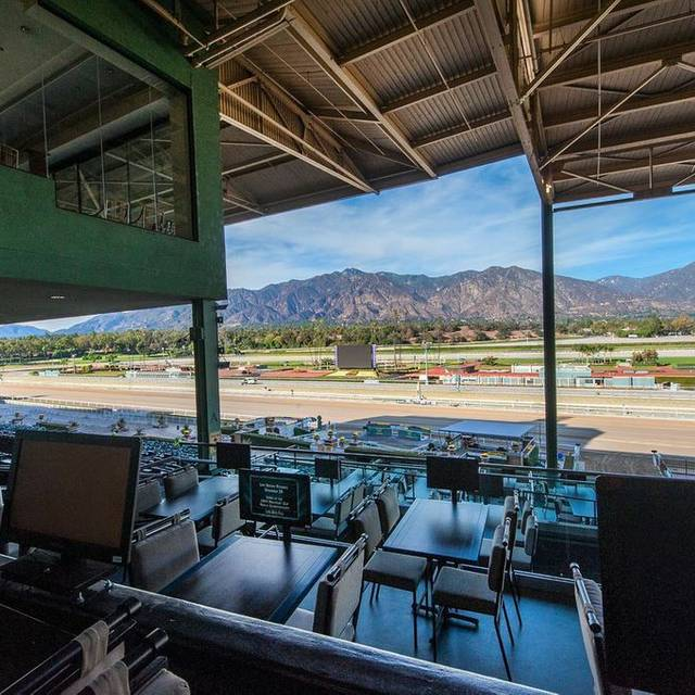 Turf terrace at santa anita park arcadia ca opentable for Terrace cafe opentable
