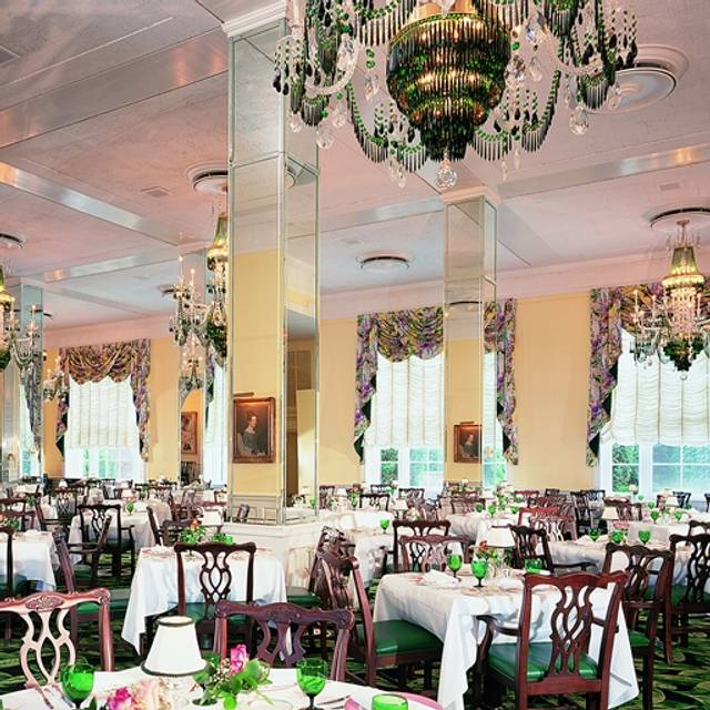 The Main Dining Room at The Greenbrier, White Sulphur Springs, WV