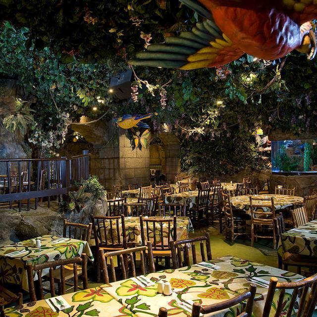Rainforest cafe london london opentable for Rainforest londra