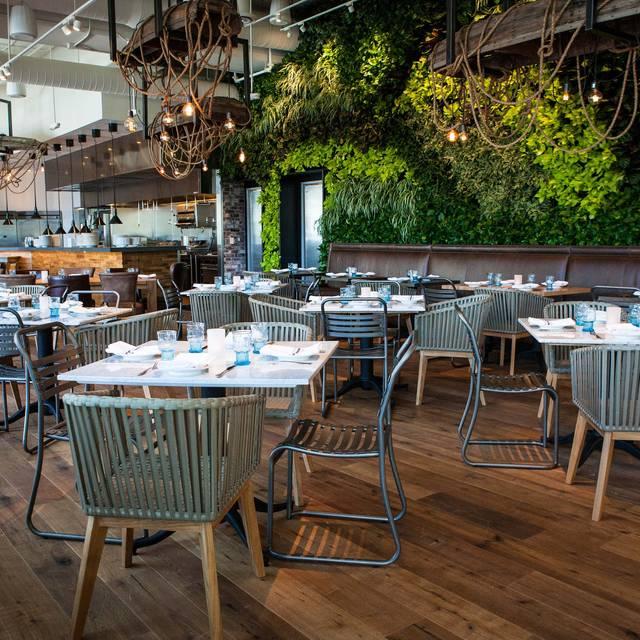 Hbsm - Main Dining Room - Marie Buck Photography - Herringbone - Santa Monica, Santa Monica, CA