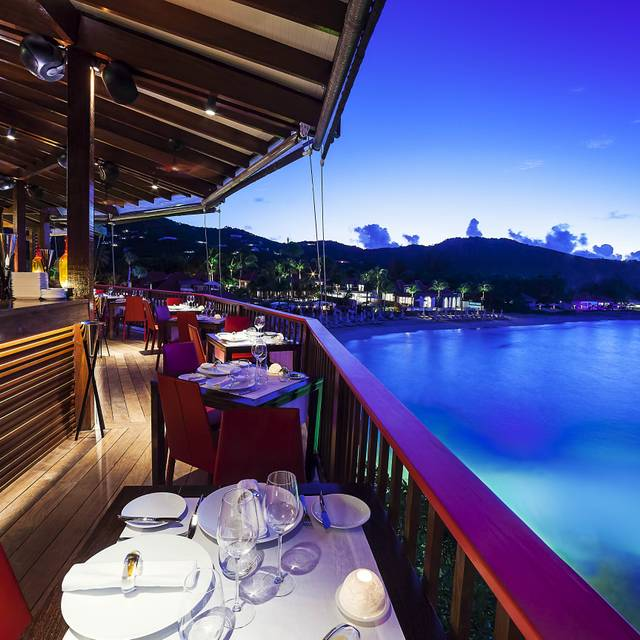 On The Rocks Restaurant  Yotam Sandak - Eden Rock, St. Jean Bay, St. Barts