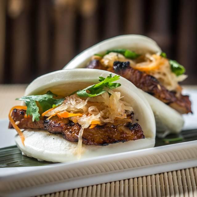 Chashu Pork Bun - Haru Sushi - Boston, Boston, MA