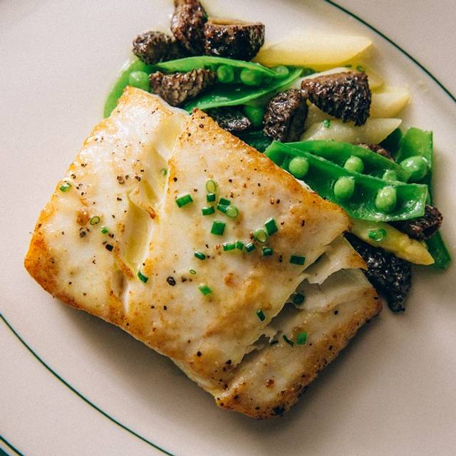 Roasted Alaskan Halibut - Joe's Seafood, Prime Steak & Stone Crab, Chicago, IL