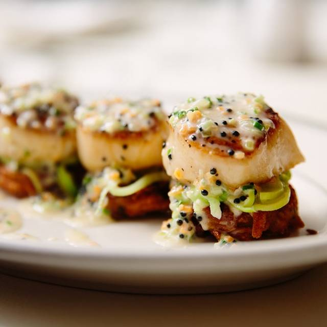 Seared Sea Scallops - Joe's Seafood, Prime Steak & Stone Crab, Chicago, IL